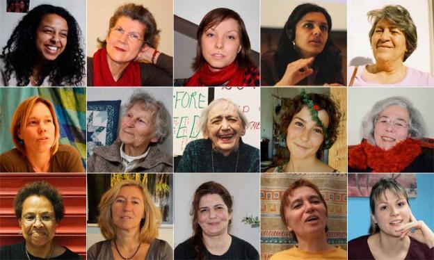 Die Hälfte des Himmels – 99 Frauen & Du. Wander-Ausstellung zu Frauen & Gewalt